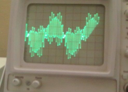 Fig. 15: Output waveform with LCL-filter