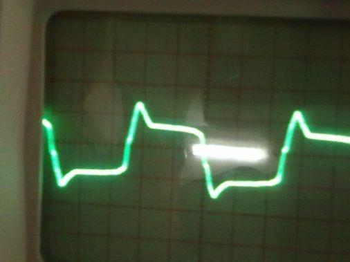 Fig. 14: Output result waveform