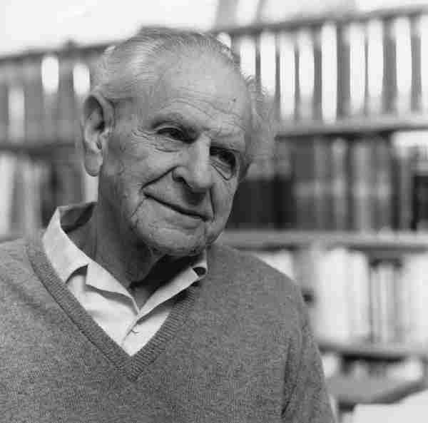 Karl Popper by Lucinda Douglas-Menzies